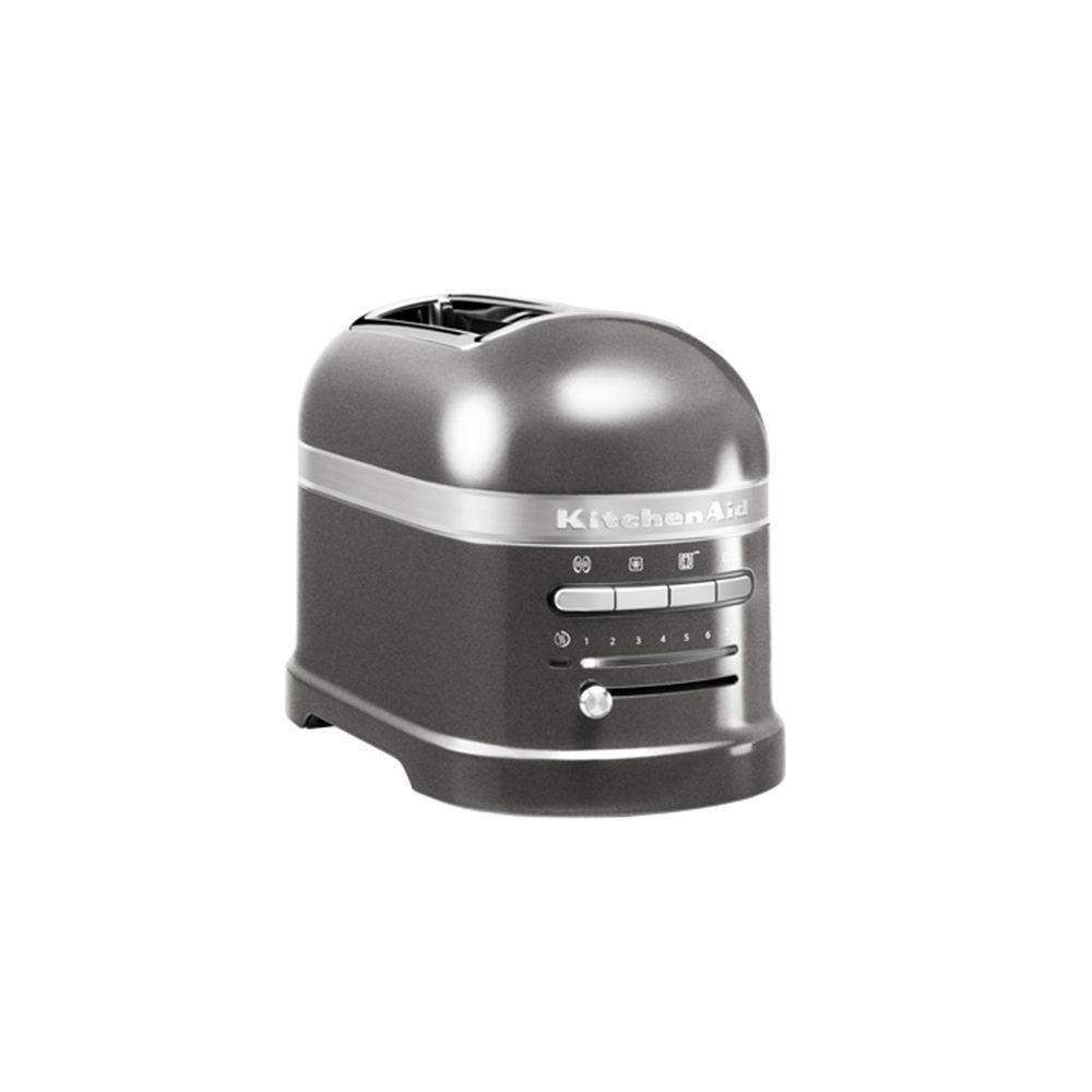 Kitchenaid kitchenaid - grille-pains 2 fentes 1250w gris étain - 5kmt2204 ems