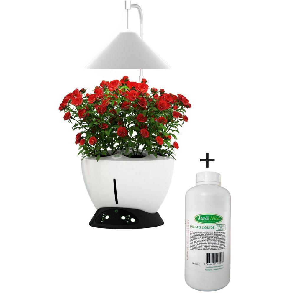 Jardinice Jardinière avec lampe led intégrée Le potager avec engrais liquide + engrais 1000 ml