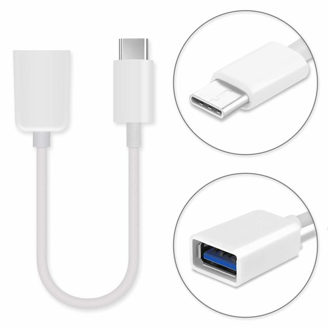 Ineck - INECK® Adaptateur USB Type C male vers USB 3.0 OTG Ineck   - Câble USB