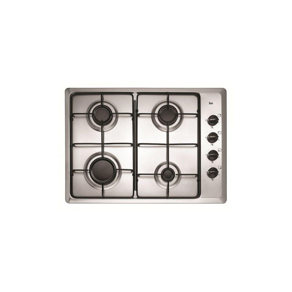 Teka Table de cuisson gaz Inox 4 feux TEKA - HLX 50 4G AL