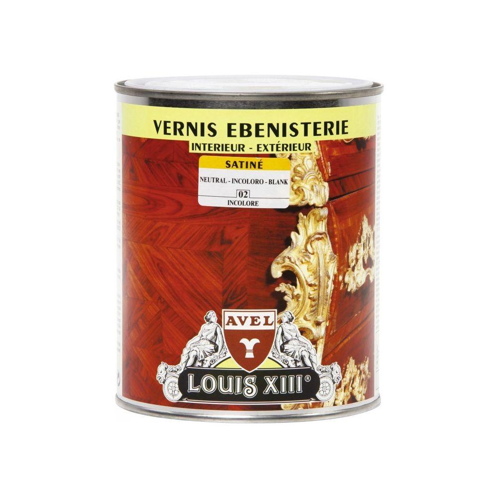 Avel Vernis bois - Intérieur / Extérieur - Satiné - Incolore - 1 L - AVEL