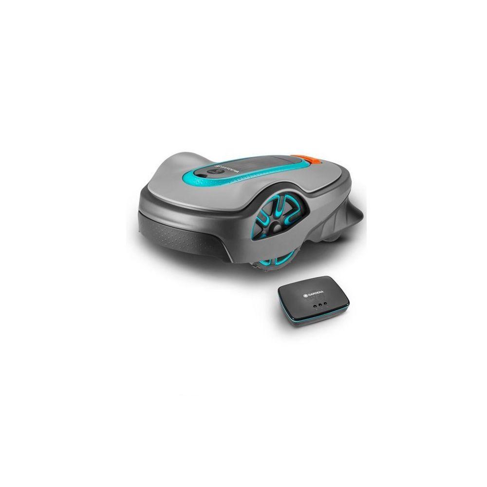 Gardena Robot tondeuse connecté smart SILENO life 750m²