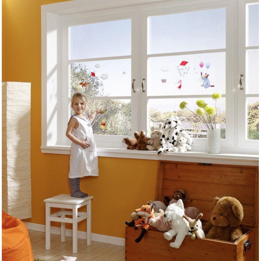 Bebe Gavroche 13 Stickers pour vitre Winnie l'Ourson Disney