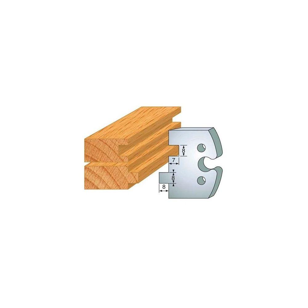 Leman Leman - Jeu de 2 fers profilés acier Ht.50 mm N°202