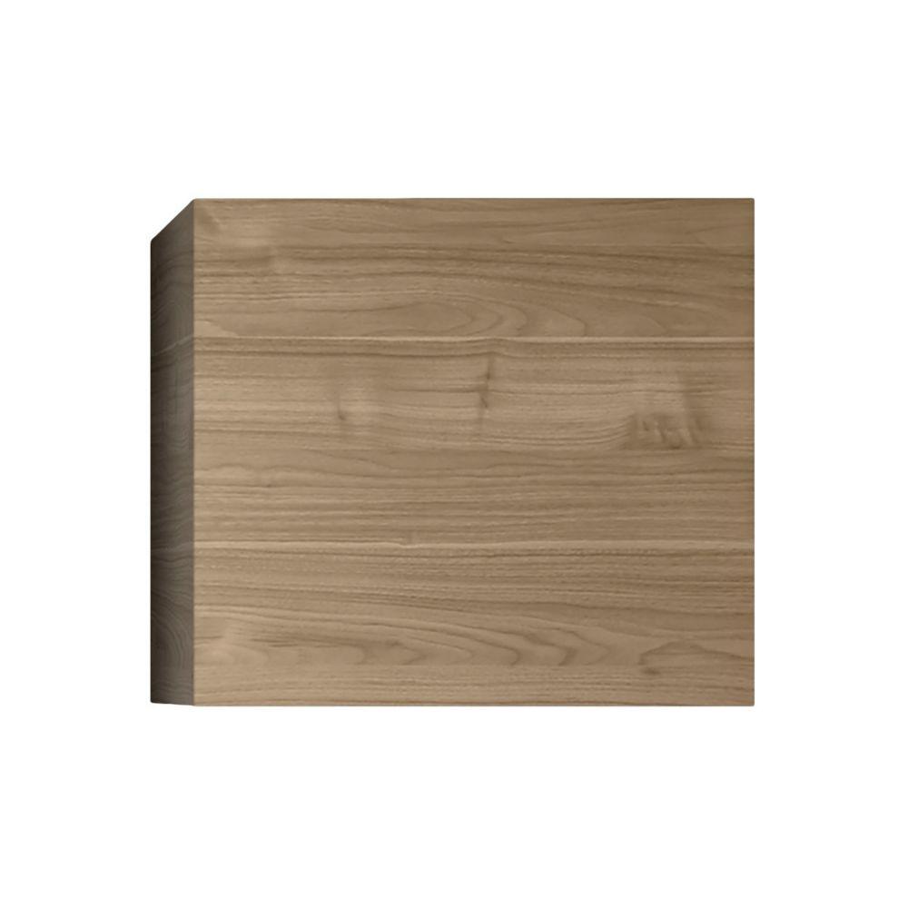 Miliboo Élément mural carré finition bois clair ETERNEL