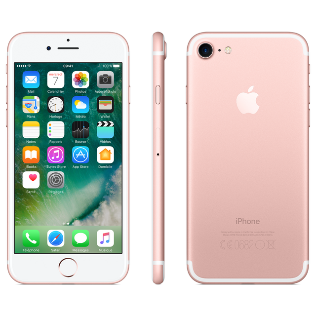 Apple - iPhone 7 - 32 Go - MN912ZD/A - Or Rose - iPhone 4g+