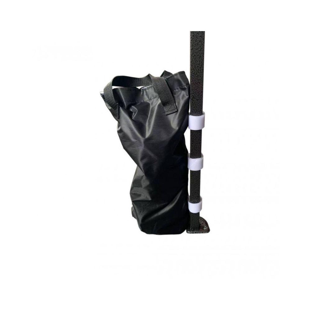 Mobili Rebecca 4 Sacs de Lestage de Fixation Tonnelle Pavillon Noir avec Velcro