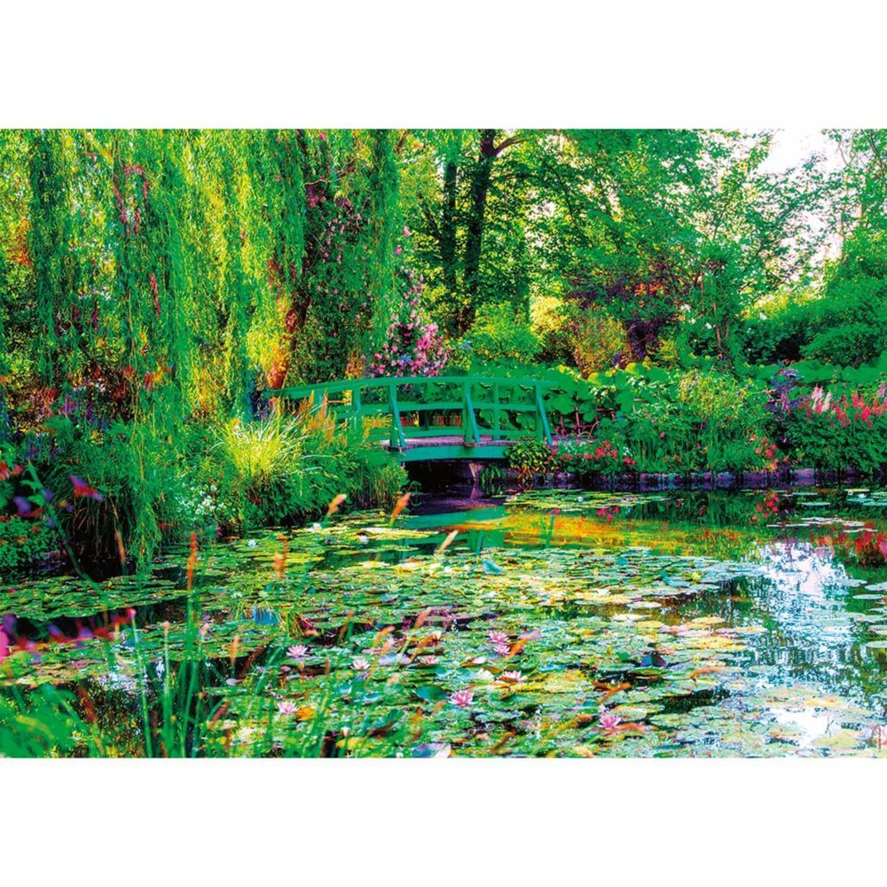 Nathan Puzzle 1500 pièces : Les jardins de Claude Monet, Giverny