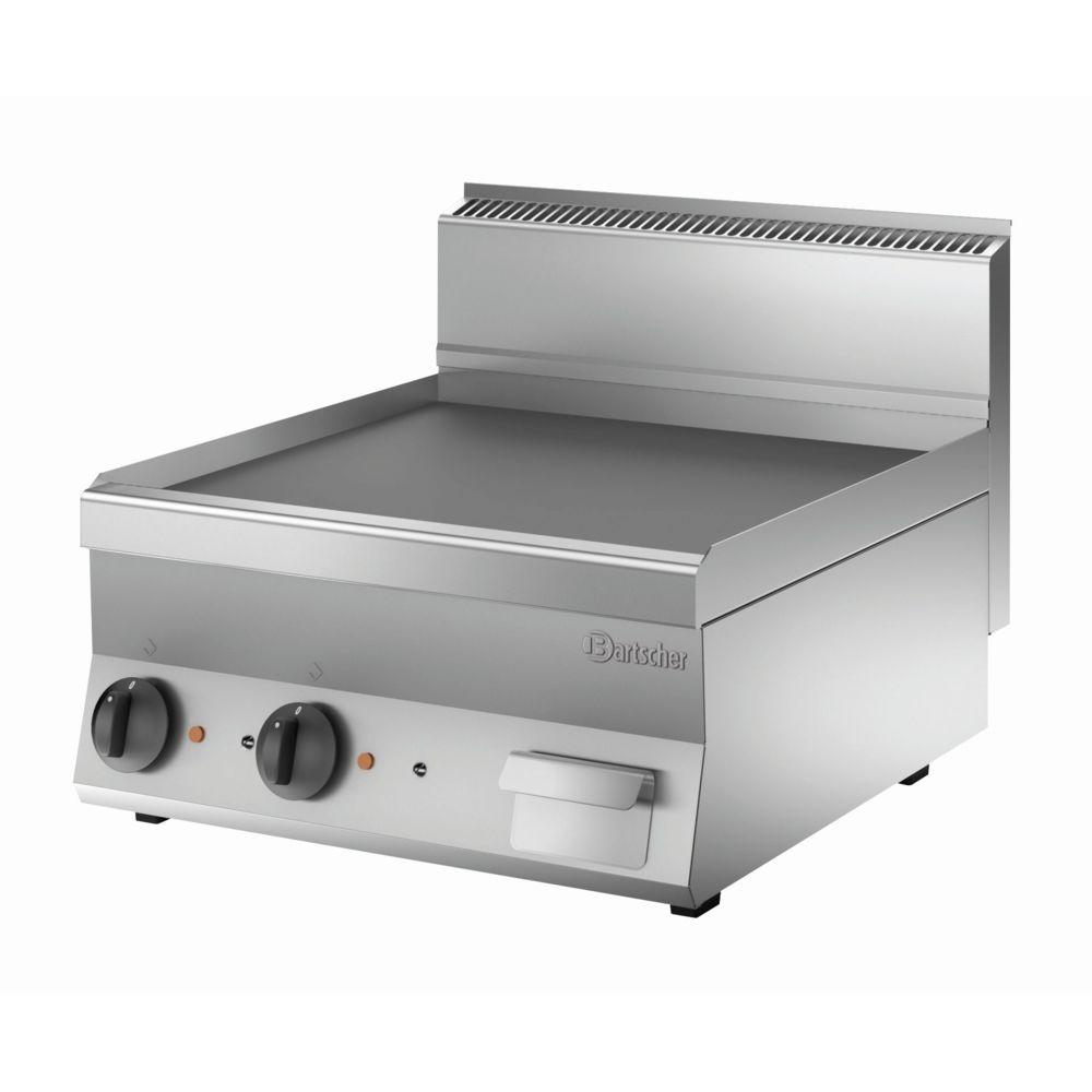 Bartscher Plaque grill 650. L600. lisse
