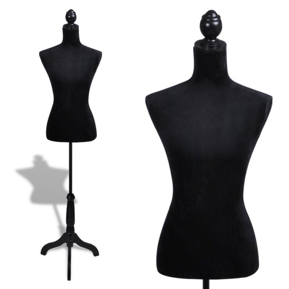 Helloshop26 Buste de couture hauteur réglable mannequin femme 2002008