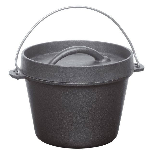 BARBECOOK - Cocotte en fonte pour barbecue Junko Barbecook 0.7L - BARBECOOK