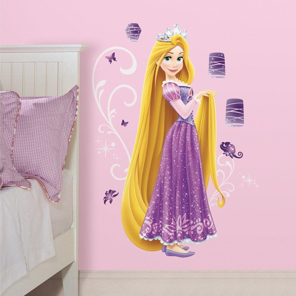 Roommates Stickers Géant Raiponce Princesse Disney