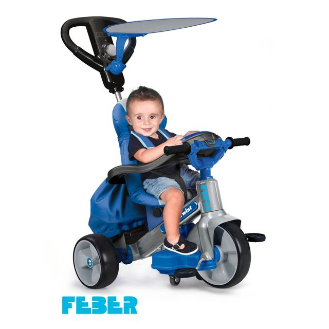 Tricycle Feber Tricycle Baby twist 360 bleu - 800009780