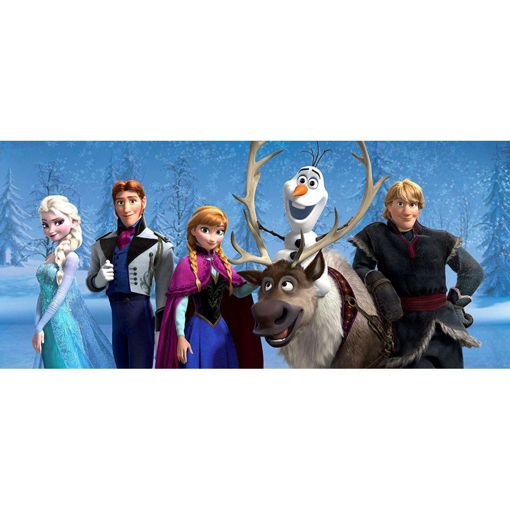 Bebe Gavroche Poster géant La Reine des Neiges Disney Frozen intisse 202X90 CM