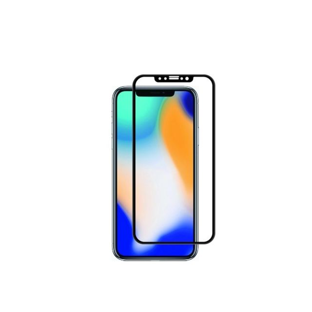 Muvit - Tiger Glass - Verre trempé iPhone XS Max - Protection écran smartphone