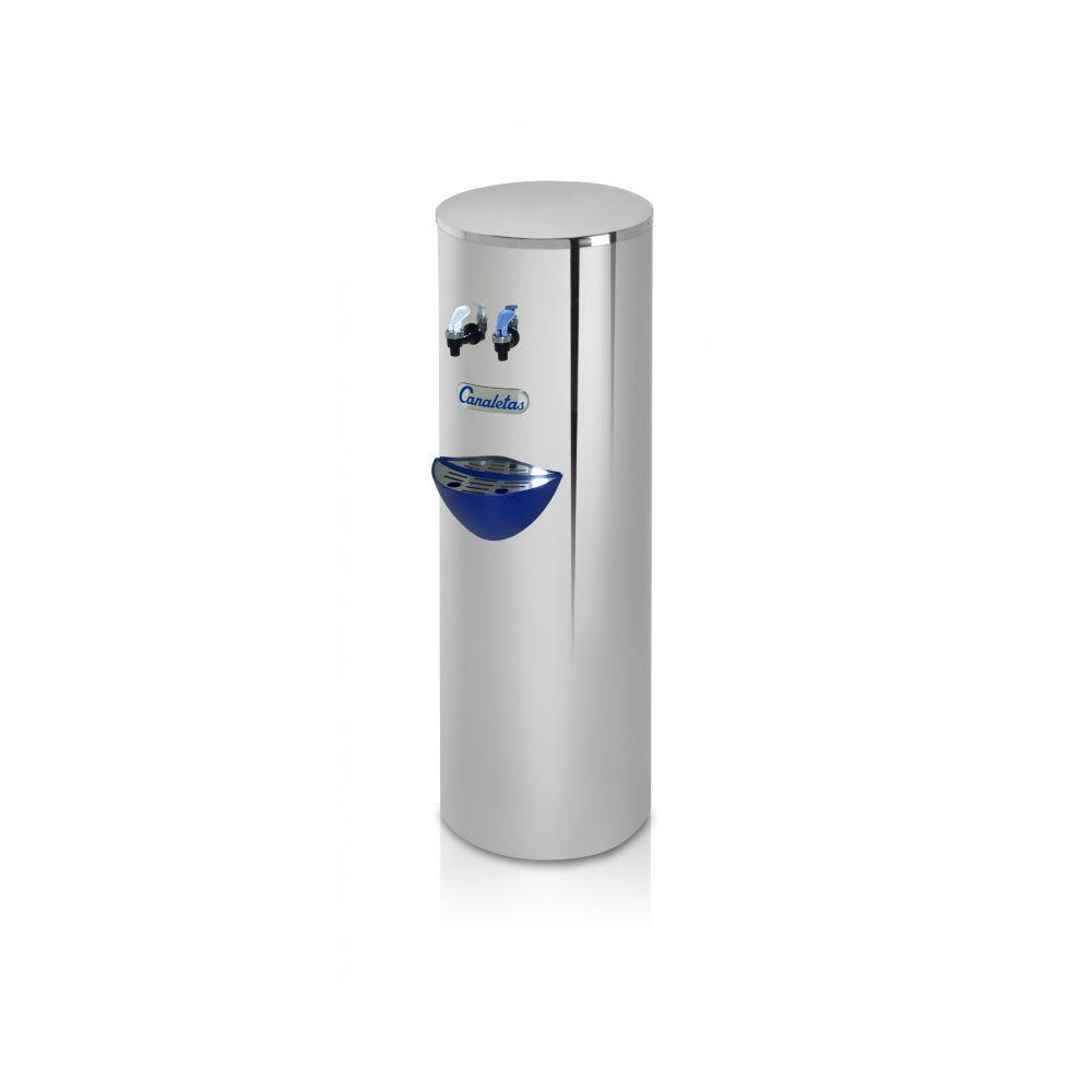 Materiel Chr Pro Fontaine à Eau Froide & Ambiante ou Froide & Chaude - Canaletas - 2 robinets (eau froide/chaude)
