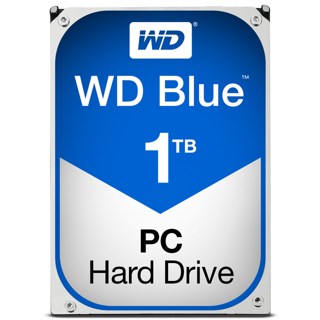 Western Digital - WD BLUE 1 To - 3.5'' SATA III 6 Go/s - Cache 64 Mo - Bleu - Disque Dur interne