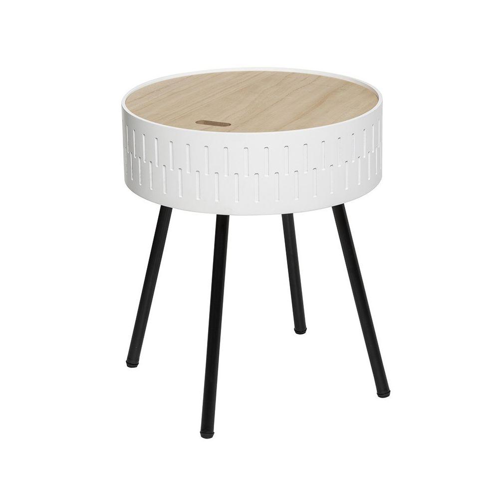 Atmosphera, Createur D'Interie Table à café coffre blanc Shiro Atmosphera