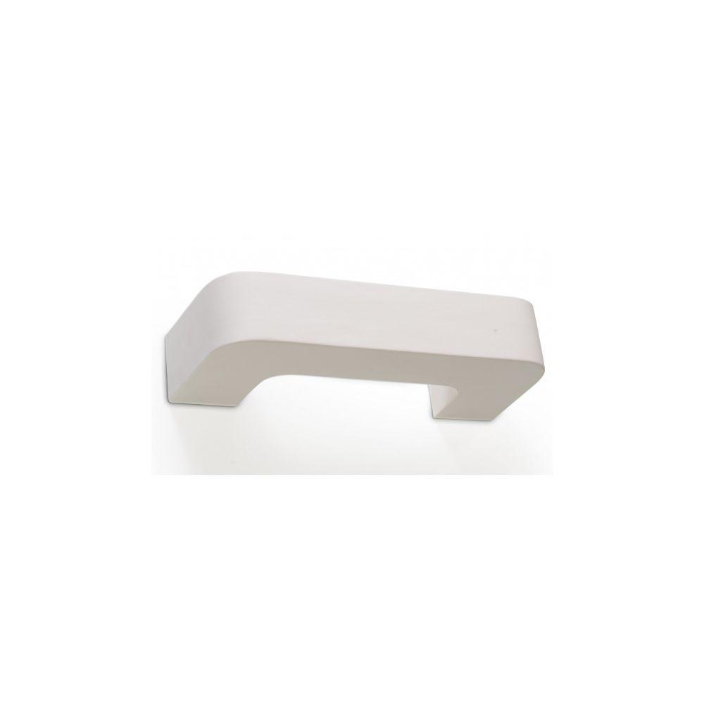 Luminaire Center Applique murale MAGNET céramique blanc 1 ampoule