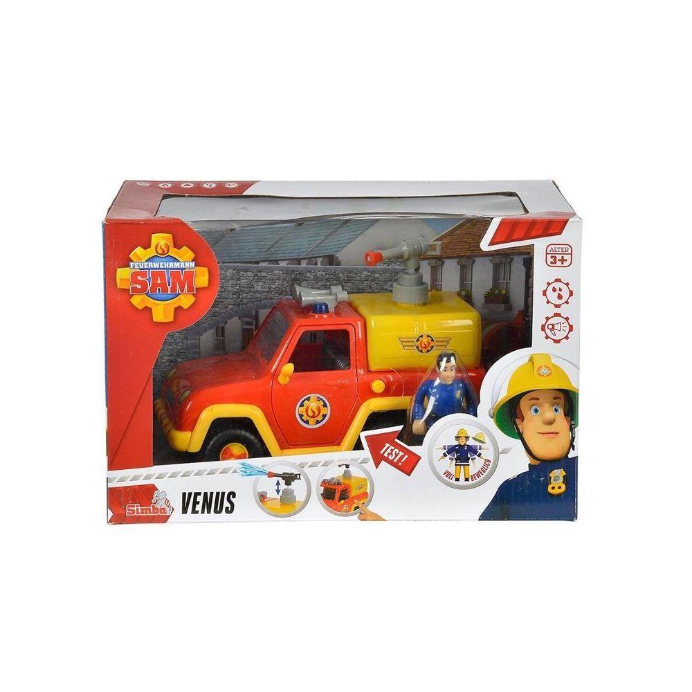 Simba Toys Simba Toys 109257656 Pompier Sam - La voiture de pompier Vénus