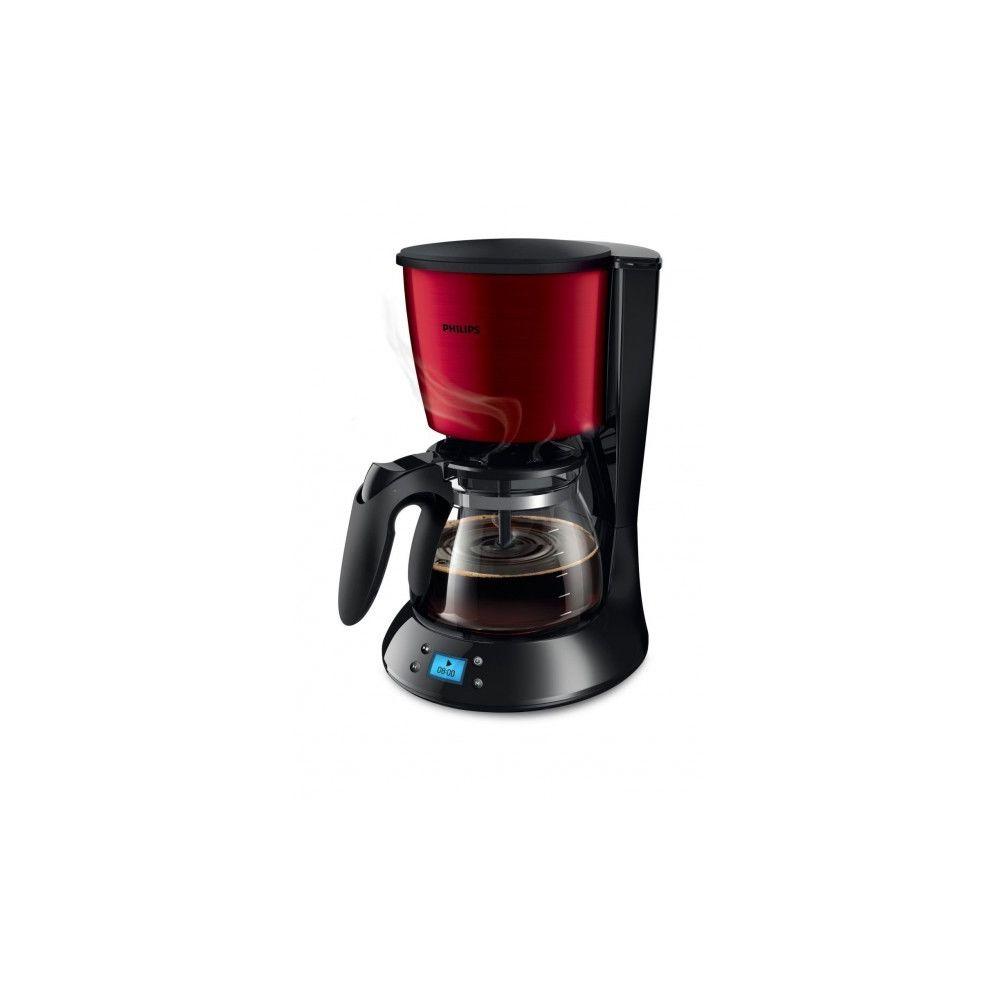 Philips Cafetière - HD7459/61 - Rouge/Noir