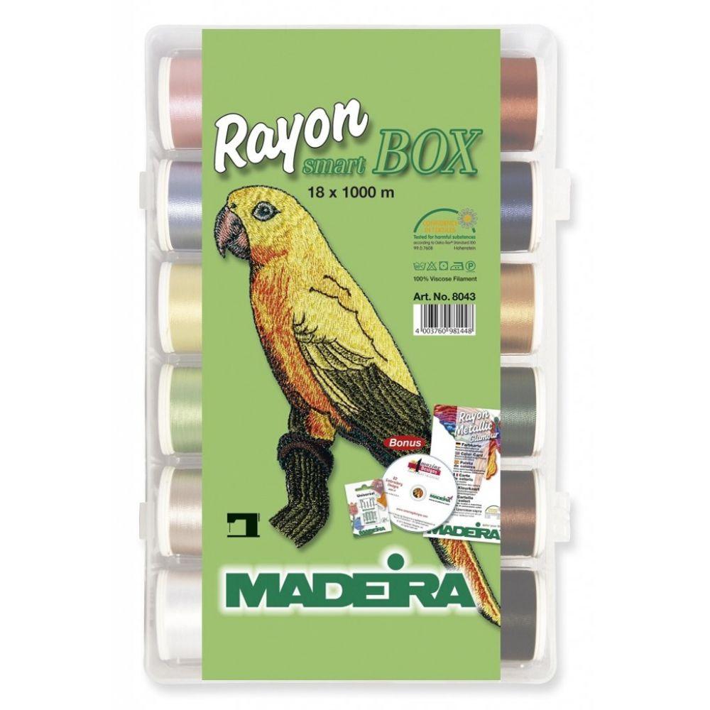 Madeira Madeira Smart Box fils à broder Rayon 8043