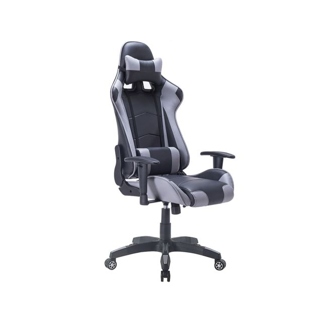 Chaise Privee - Chaise Gaming Pro (Couleur: Gris) - Marchand Chaise privee