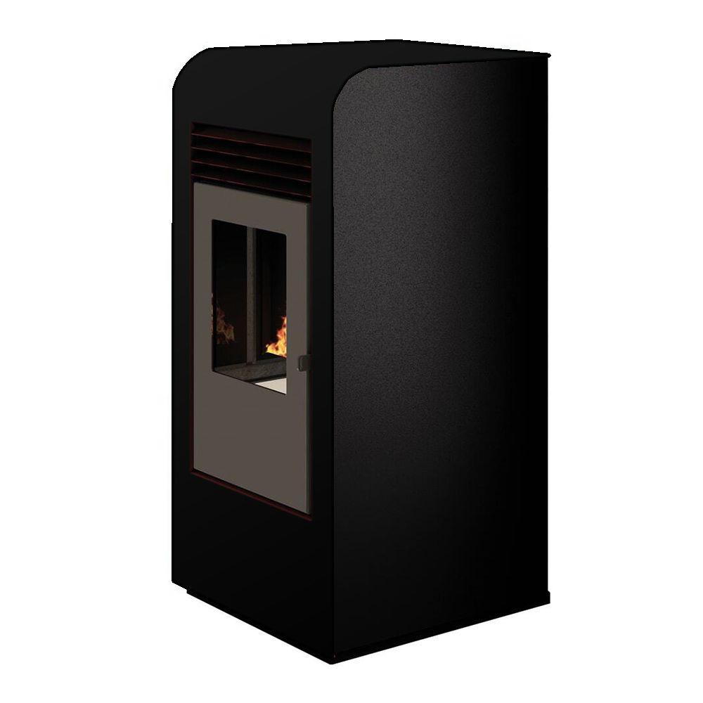 Sannover Thermique Poêle à granulés air Giada 8kW Noir Sannover