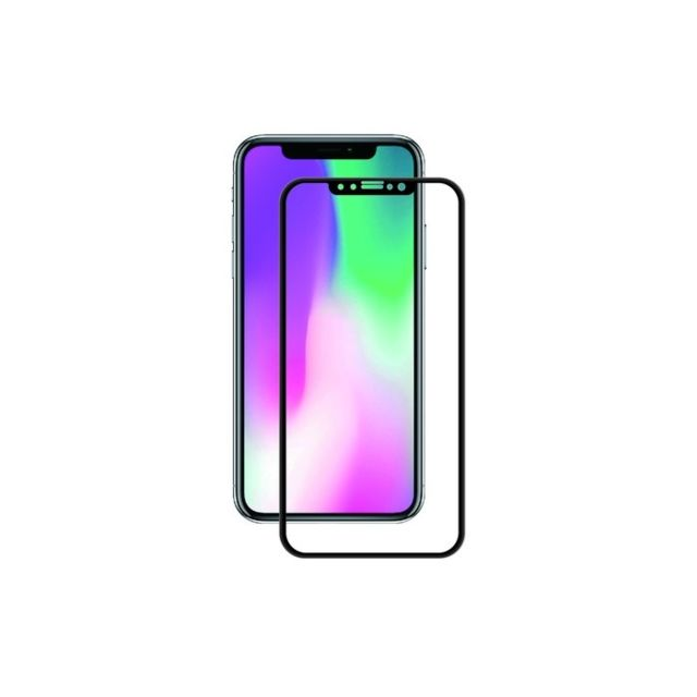 Muvit - Tiger Glass - Verre trempé iPhone XR - Protection écran smartphone