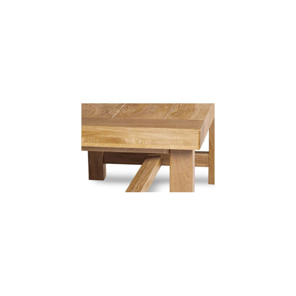 HELLIN   Table de Ferme en chene massif L12 + 12 chaises LA BRESSE ...