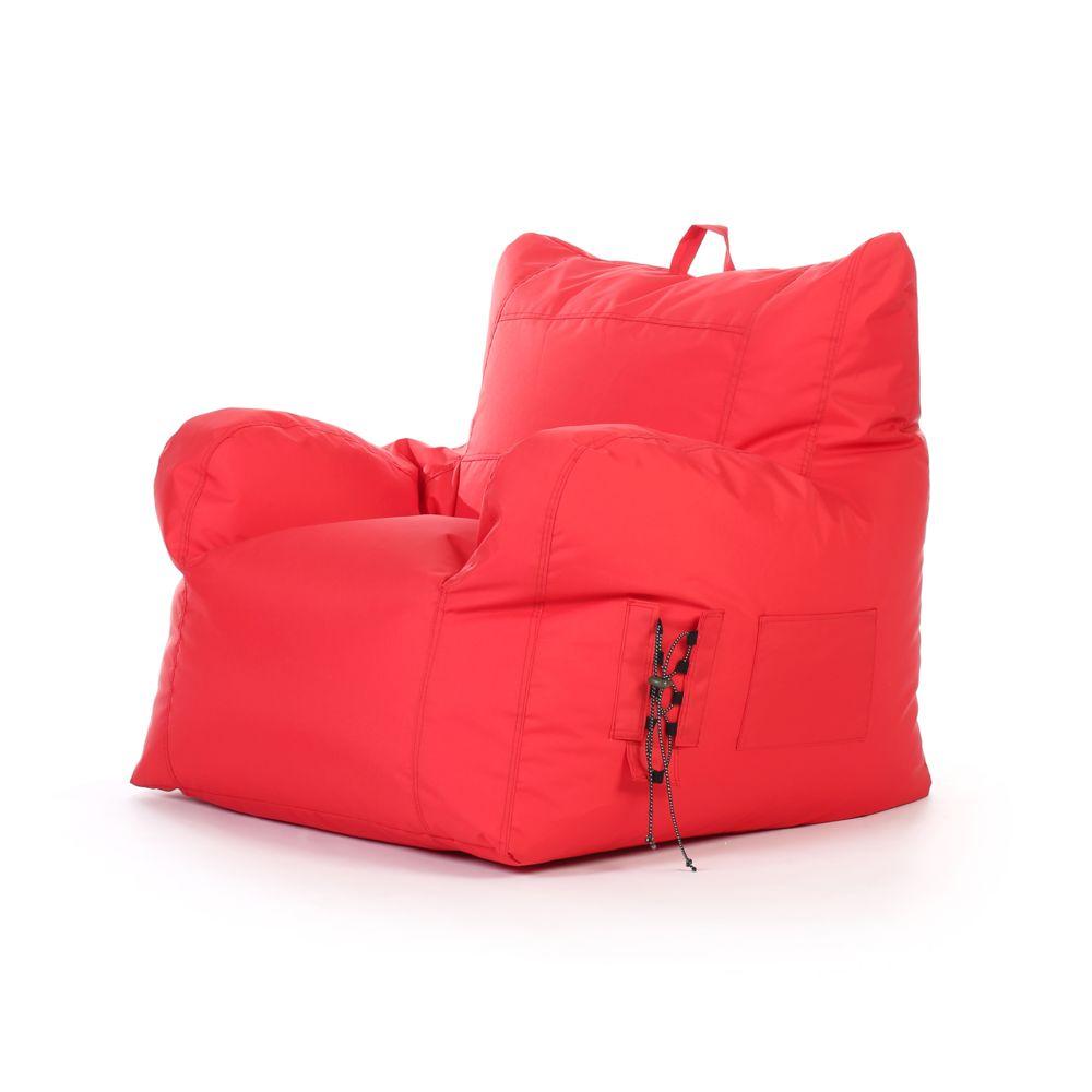 Rendez Vous Deco Fauteuil enfant Noda intérieur/extérieur rouge