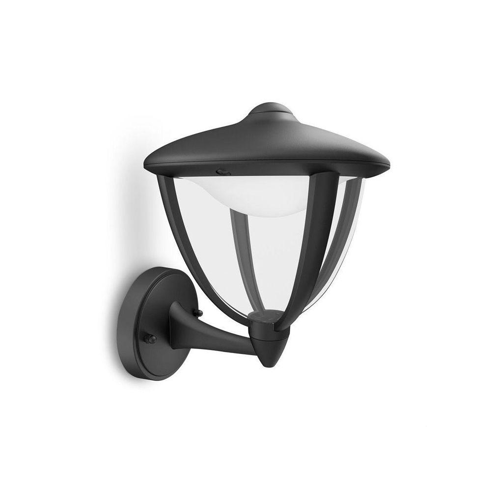 Philips ROBIN-Applique d'extérieur Montante LED H24cm Noir Philips