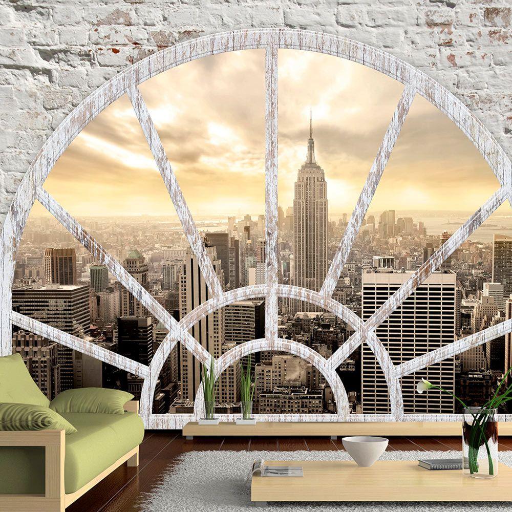 Bimago Papier peint - NY - Ville à l'aube - Décoration, image, art | Ville et Architecture | New York |