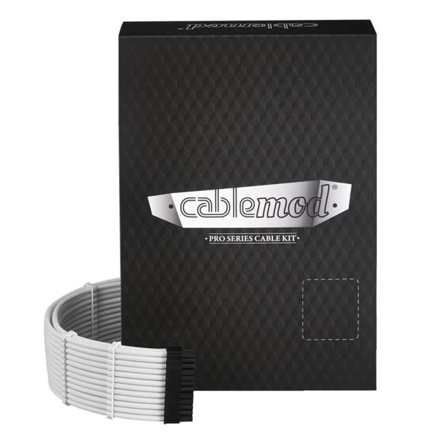 Cablemod -PRO ModMesh C-Series AXi, HXi & RM Cable Kit - Blanc Cablemod  - Cablemod