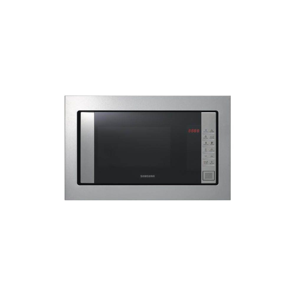 Samsung samsung - micro-ondes encastrable 23l 800w inox - fw87sst