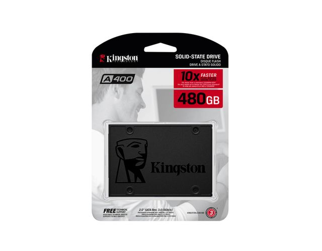 Kingston A400 480 Go 2.5'' SATA III (6 Gb/s)