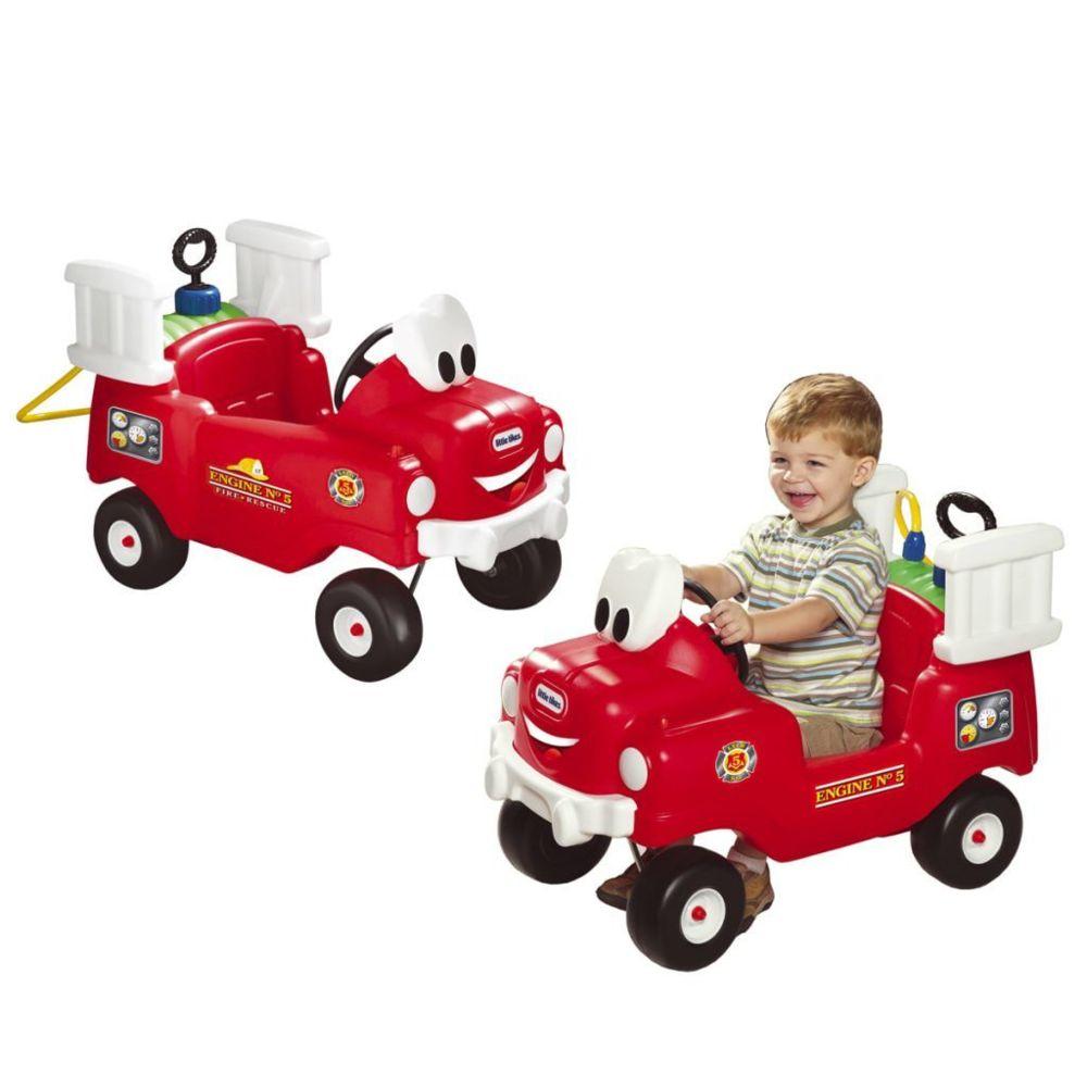 Little Tikes Little Tikes Camion de pompier rouge