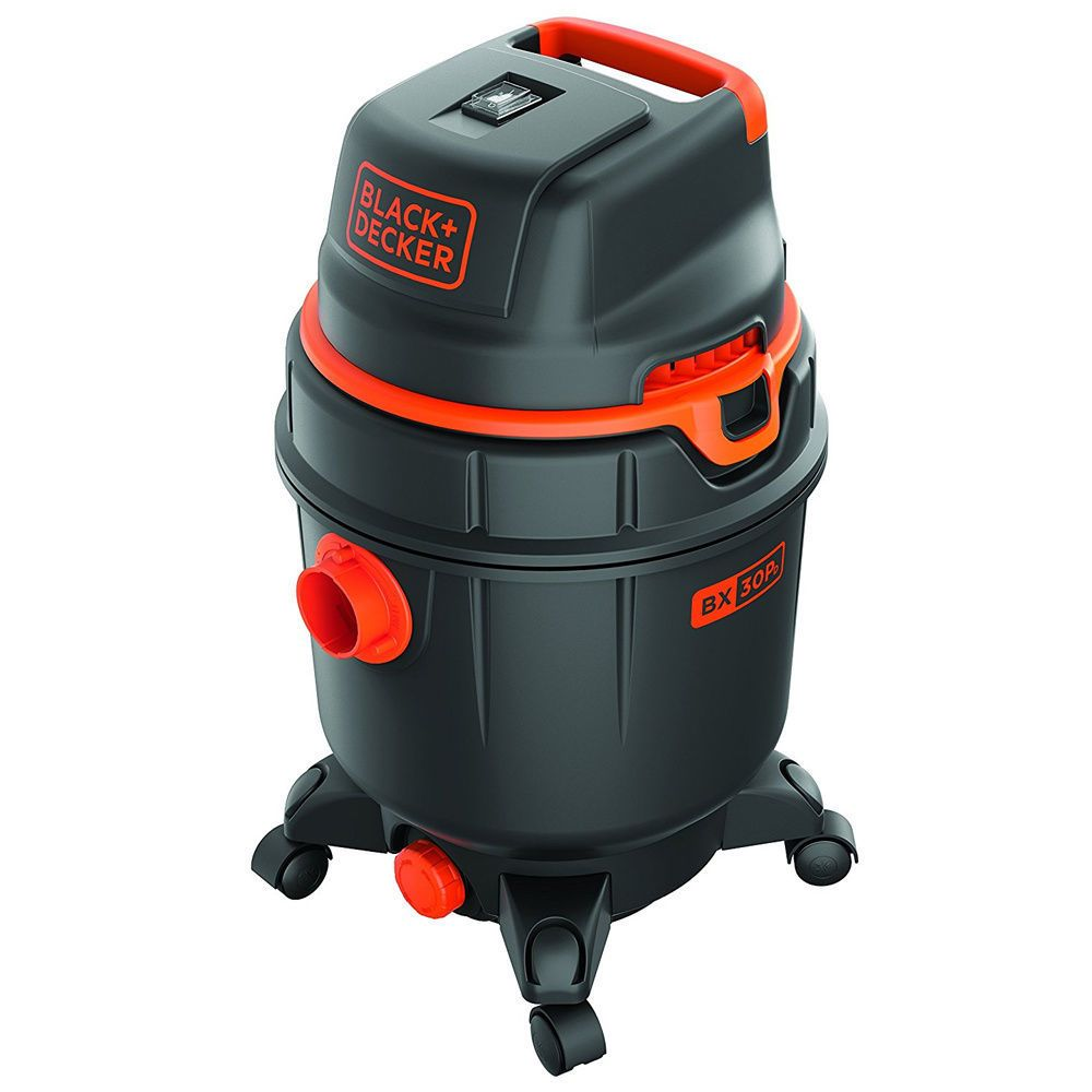 Black & Decker Aspirateur eau et poussière souffleur 30l 1600w BXVC30PDE