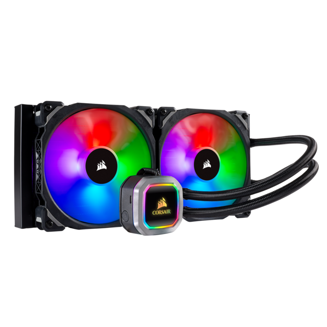 Corsair - CORSAIR Hydro Series H115i RGB PLATINUM Liquid CPU Cooler Corsair   - Bonnes affaires Watercooling