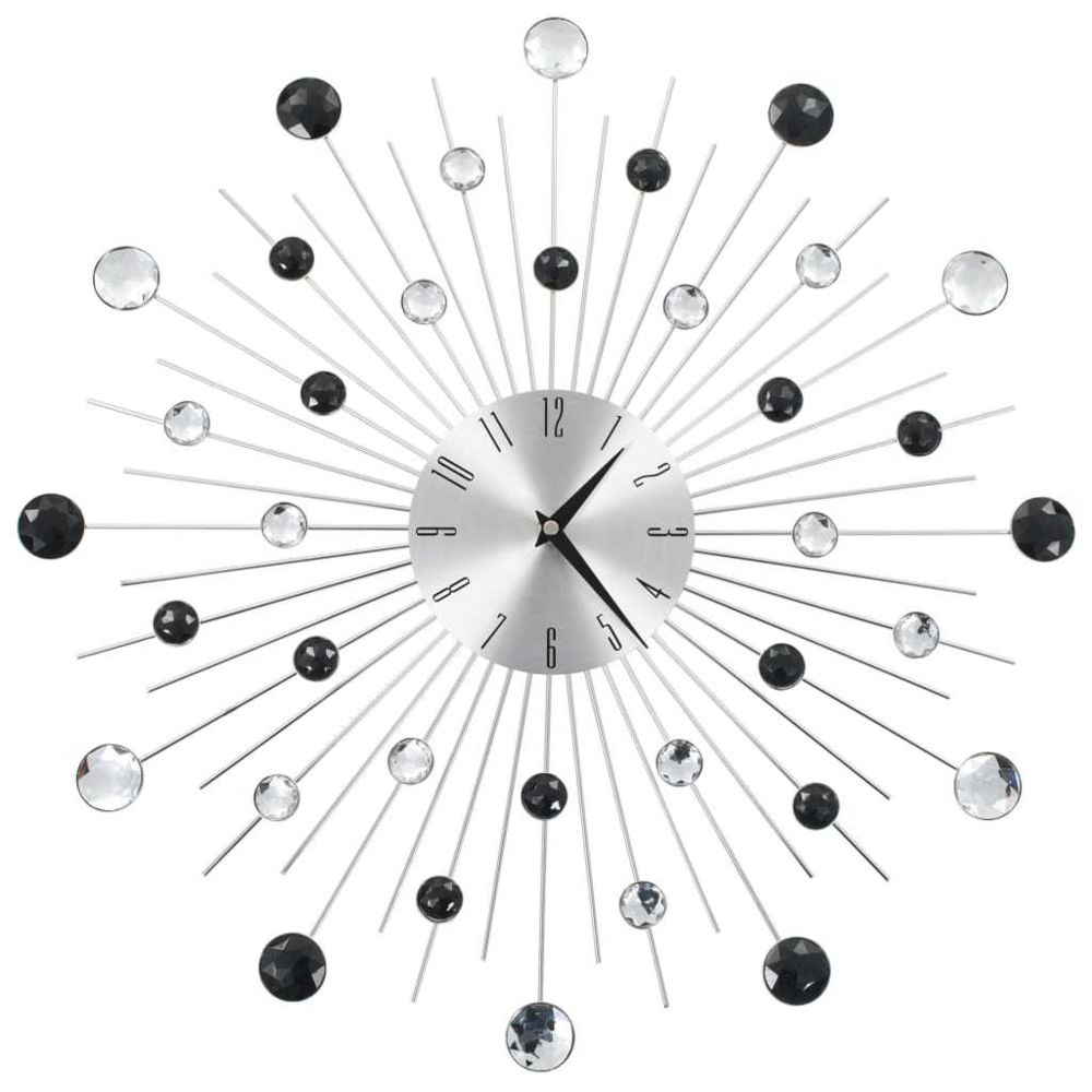 Vidaxl vidaXL Horloge murale avec mouvement à quartz Design moderne 50 cm