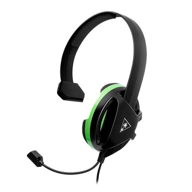 Turtle Beach - Casque Recon Chat Xbox Turtle Beach Filaire Turtle Beach   - Micro-Casque Circum auriculaire