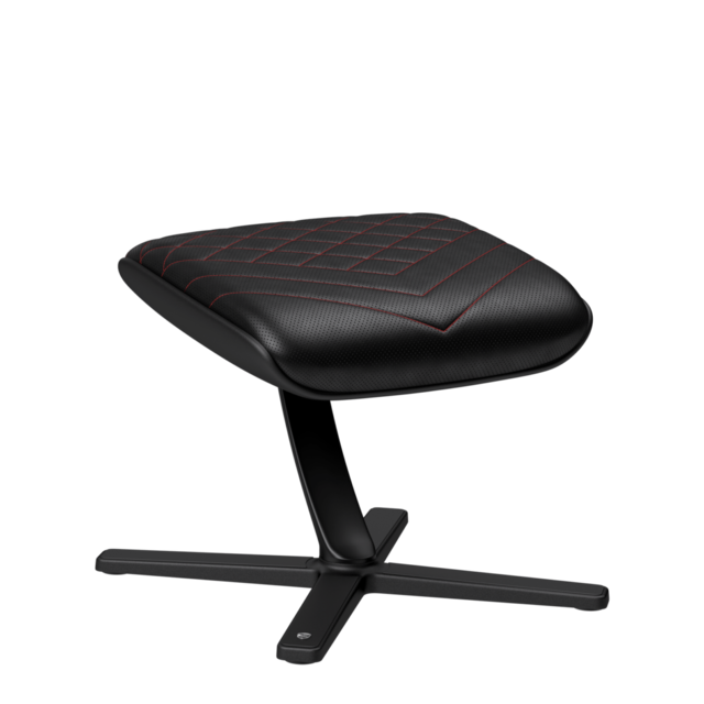 Noblechairs - FOOTREST - Noir et Rouge - Chaise gamer