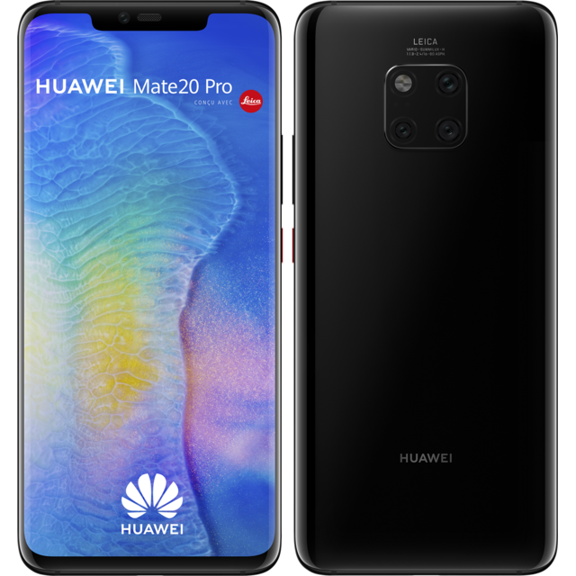 Huawei - Mate 20 Pro - 128 Go - Noir - Smartphone Android 6.3 (16,0 cm)
