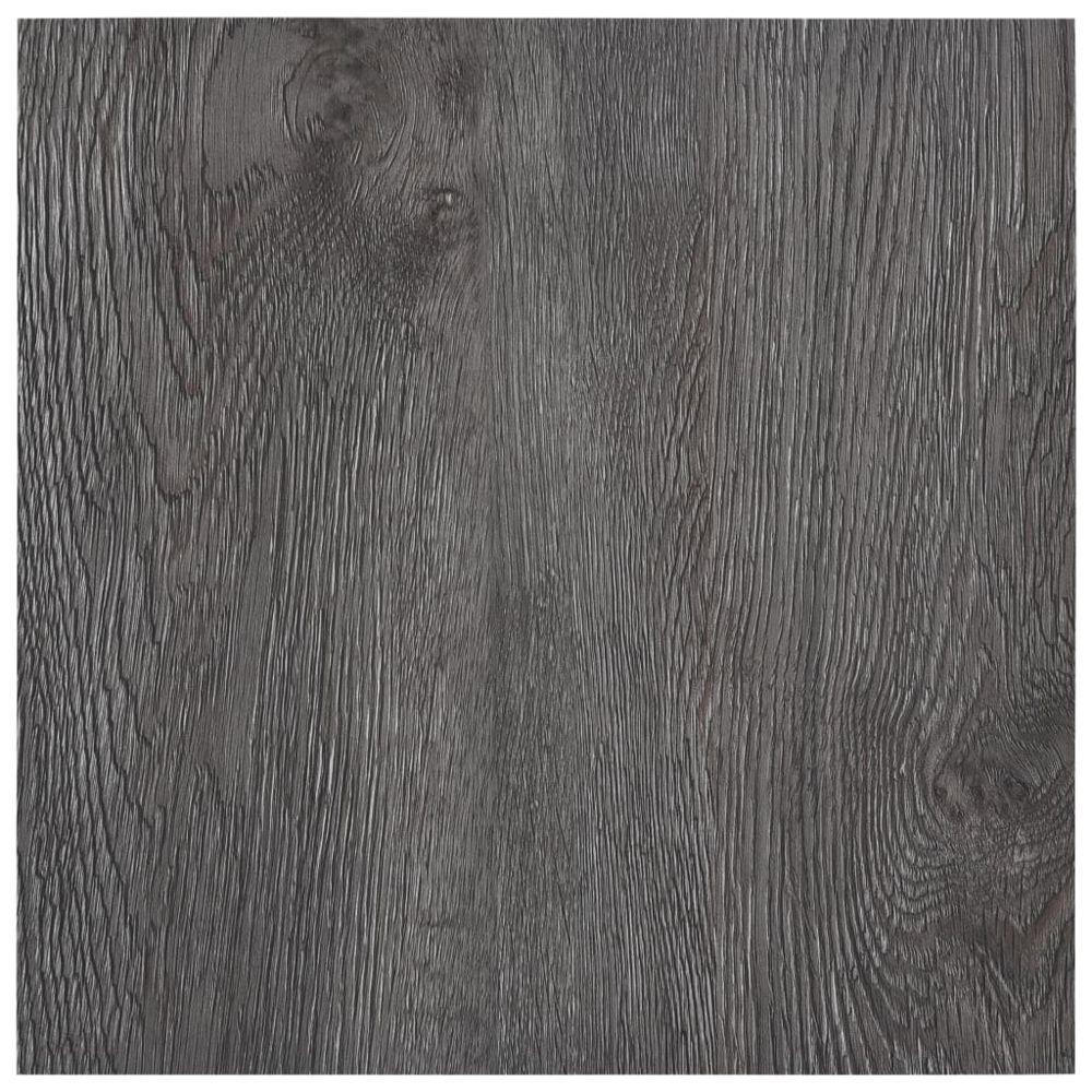 Uco UCO Planches de plancher autoadhésives 5,11 m² PVC Marron