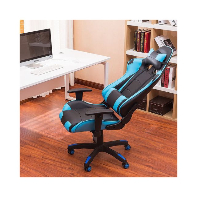 Chaise Privee - Chaise Gaming Pro (Couleur: Bleu) - Marchand Chaise privee
