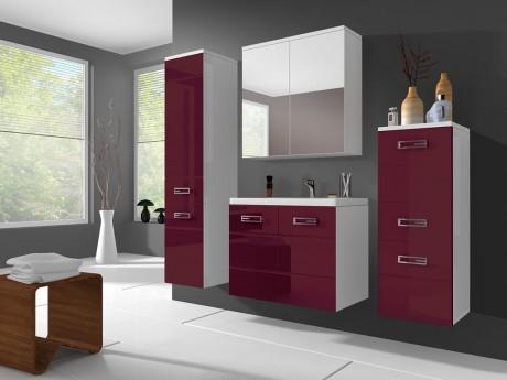 SHOWER DESIGN - Ensemble CLARENCE - meubles de salle de bain - rouge ...