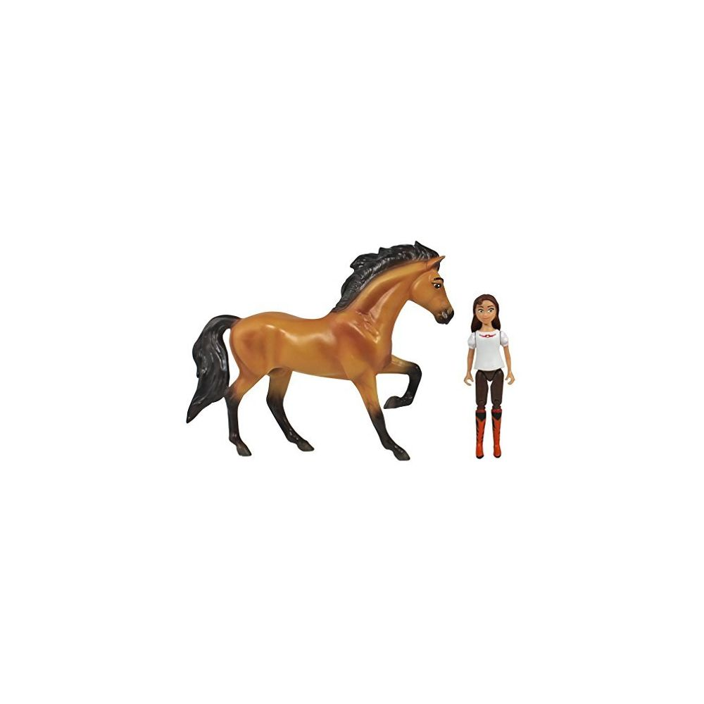 Breyer Breyer Spirit Riding Free - Spirit and Lucky Small Horse and Doll Toy Set