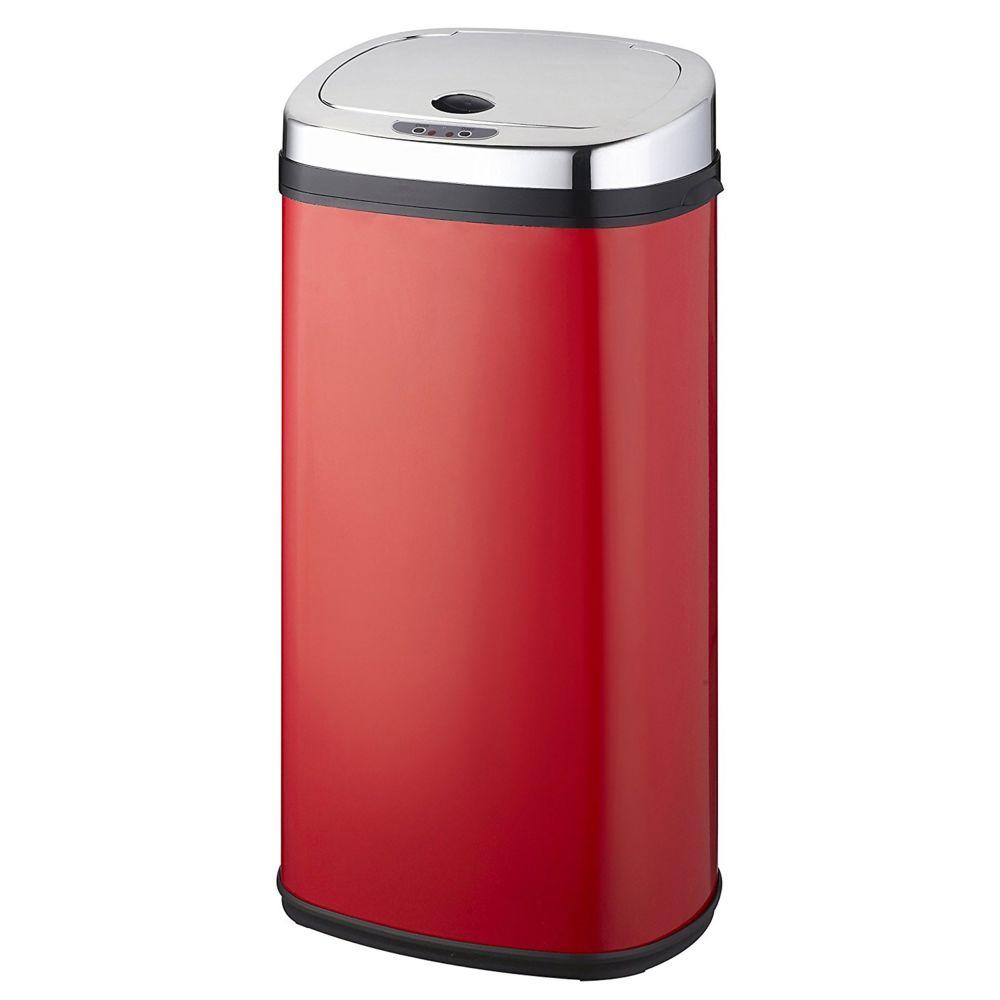 Kitchen Move kitchen move - poubelle automatique 42l rouge/inox - bat-42ls02a red ss