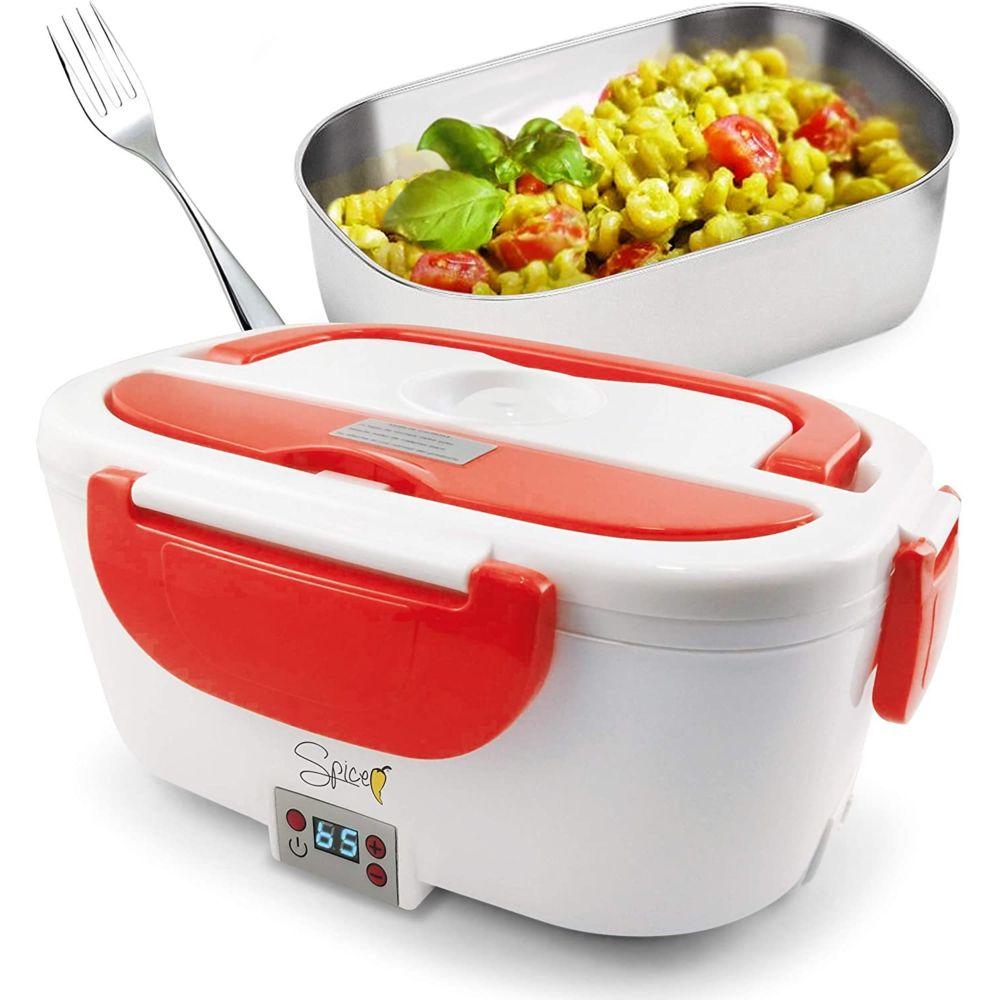 Spice Lunch box Boîte à Repas électrique de 1,5 L rouge blanc
