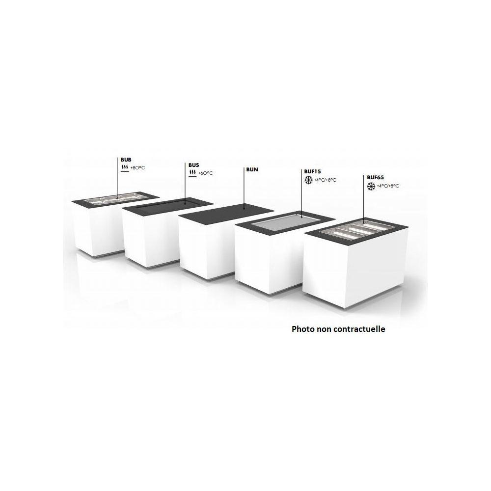Materiel Chr Pro Base de Buffet Réfrigéré Cuve Froide - 1300x600 mm - SAYL -